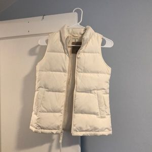 Lands End Down Vest Kids Small 7-8